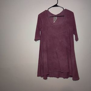 Free people dress! Cute and flowy purp/pink ✨✨